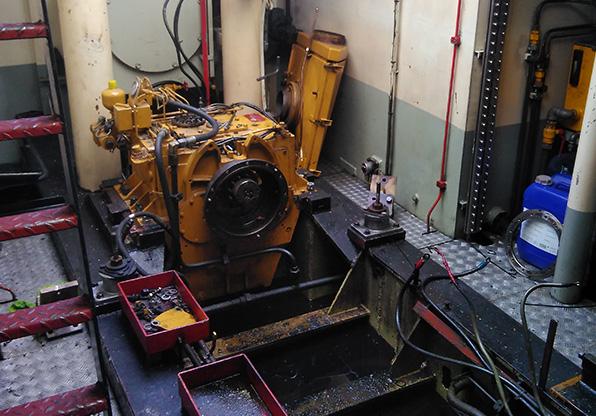 Hermotorisering Sleepboot Oldenhage